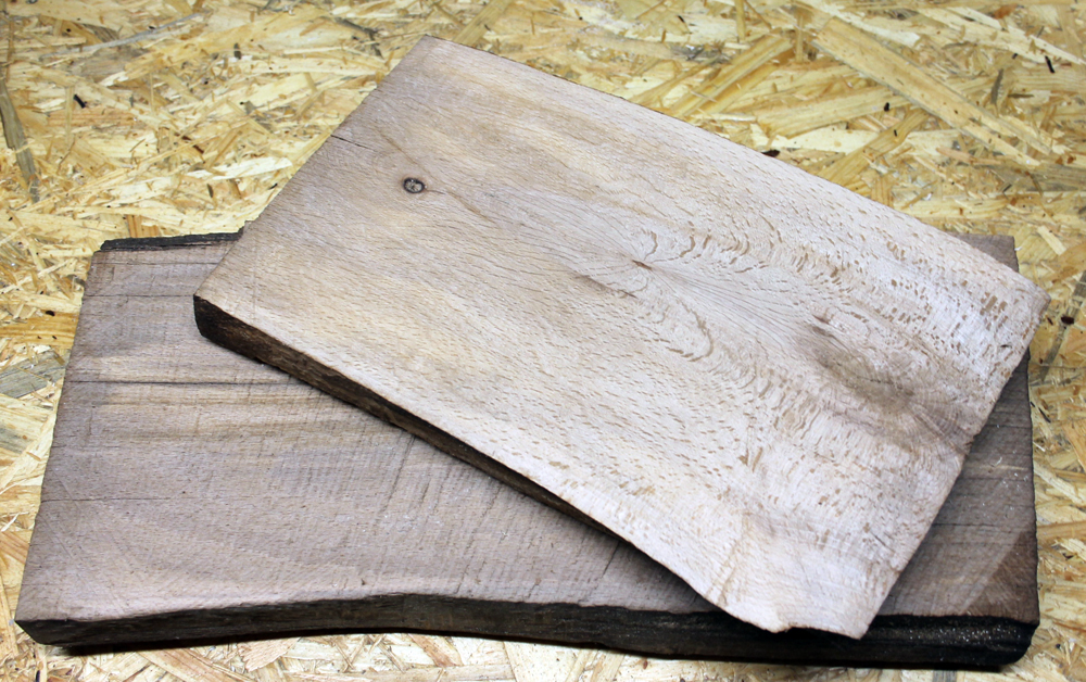 Buchenholz gehobelt